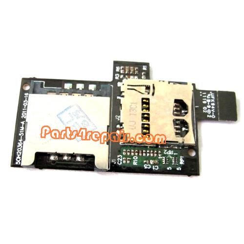 HTC Sensation XE SIM Holder from www.parts4repair.com