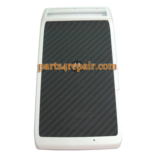 Motorola RAZR XT910 Back Cover -White from www.parts4repair.com