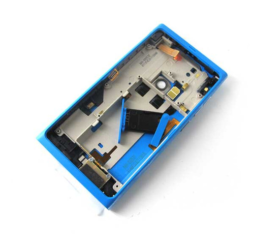 Nokia N9 Full Housing Cover Case -Blue from www.parts4repair.com