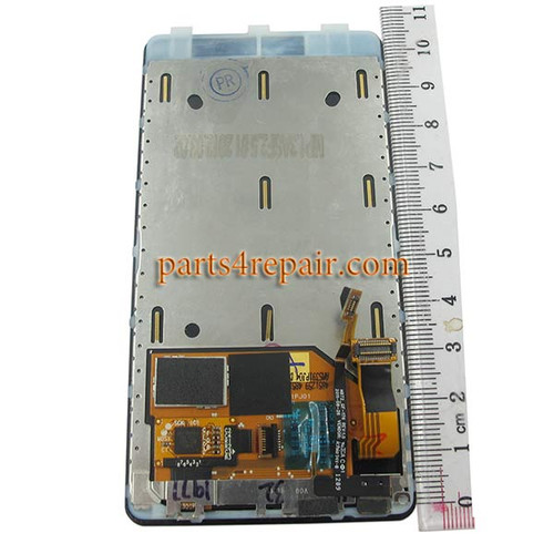 Complete Screen Assembly with Bezel for Nokia Lumia 800