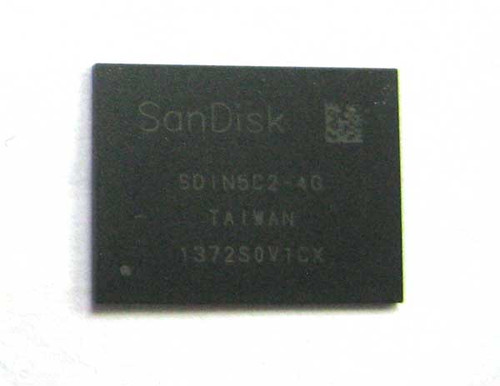HTC Desire Z SanDisk SDIN5C2-4G NAND Flash Chip with FSBL from www.parts4repair.com