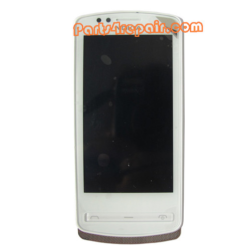 Nokia 700 Complete Screen Assembly with Bezel -White from www.parts4repair.com