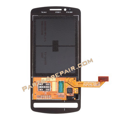 Nokia 700 Complete Screen Assembly without Bezel -Black from www.parts4repair.com