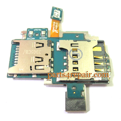 Samsung I9070 Galaxy S Advance SD Card Holder Flex Cable from www.parts4repair.com