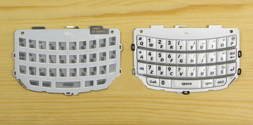BlackBerry Torch 9810 Keypad -White from www.parts4repair.com