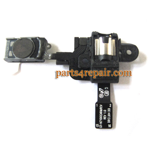 Samsung Galaxy Note II N7100 Earpiece Speaker Flex Cable from www.parts4repair.com