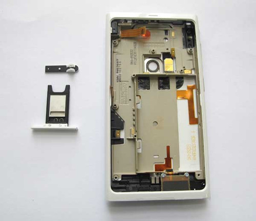 Full Housing Cover OEM for Nokia N9 -White