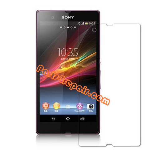 Clear Screen Protector Shield Film for Sony Xperia Z L36H