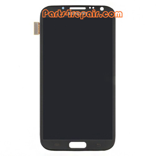 Complete Screen Assembly for Samsung Galaxy Note II N7100 -Gray