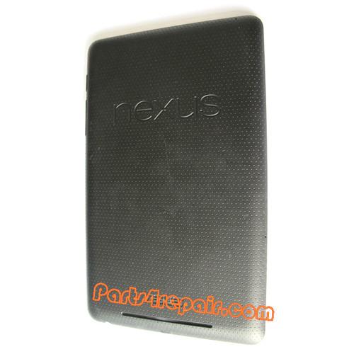 Back Cover for Asus Google Nexus 7 from www.parts4repair.com