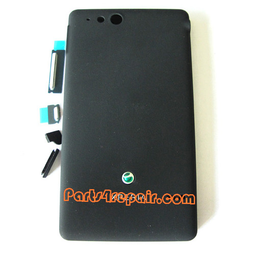 We can offer Full Housing Cover for Sony Xperia go ST27I -Black