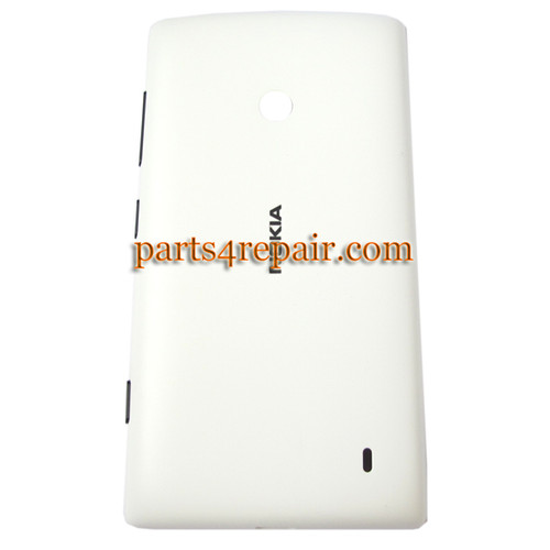 Back Cover for Nokia Lumia 520 -White from www.parts4repair.com