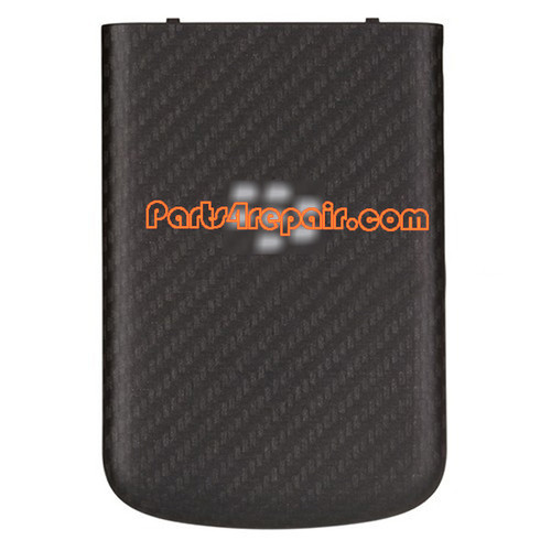 Back Cover with NFC for BlackBerry Q10 -Black from www.parts4repair.com