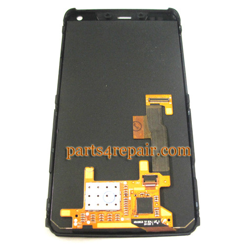 We can offer Complete Screen Assembly with Bezel for Motorola RAZR I XT890