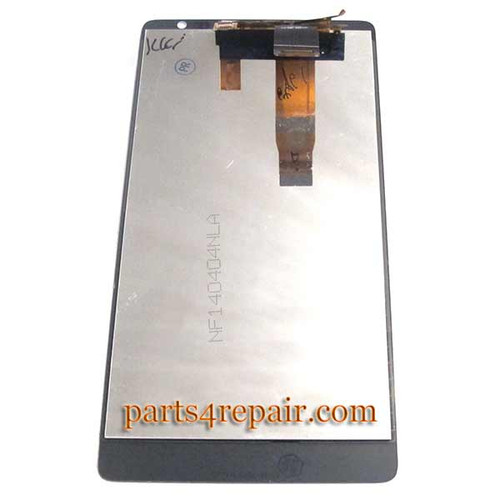 We can offer Complete Screen Assembly for Huawei Ascend Mate MT1-U06 -White