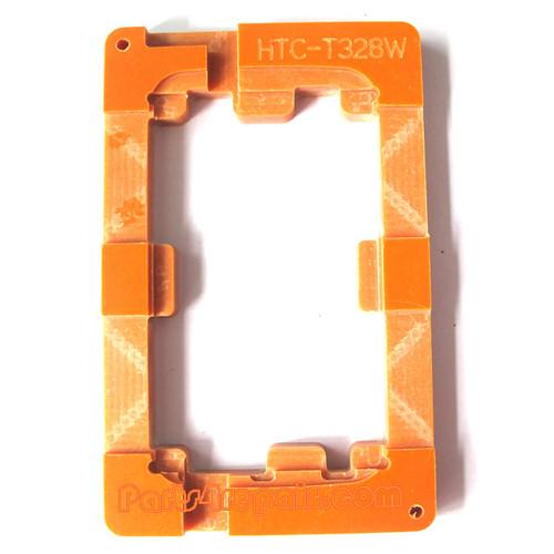 UV Glue (LOCA) Alignment Mould for HTC Desire X T328E LCD Glass