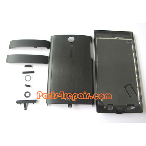 Sony Xperia ion LTE LT28 Full Body Housing Cover -Black