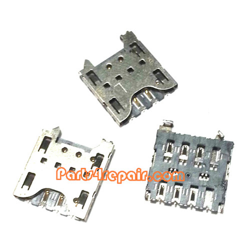 SIM Holder Contact for BlackBerry Q10/Z10 from www.parts4repair.com