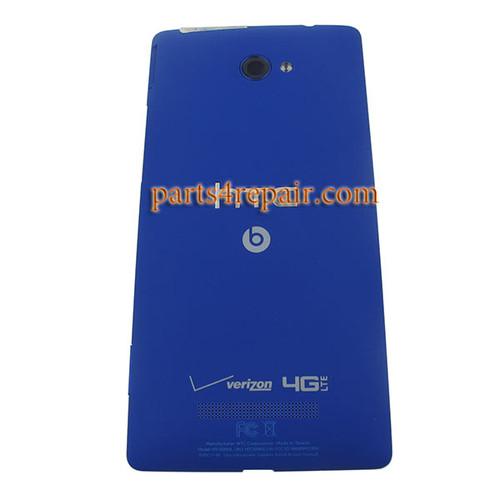 Back Cover for HTC 8X (Verizon Version) -Blue