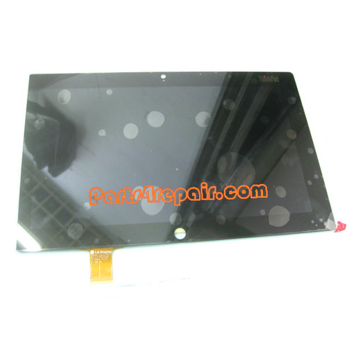 """10.1"""" Complete Screen Assembly for IBM Thinkpad tablet2 from www.parts4repair.com"""