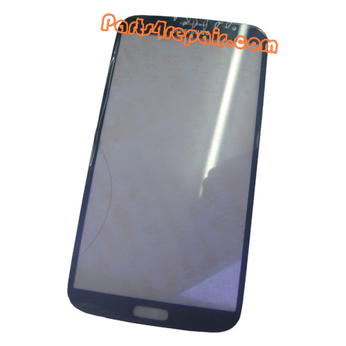 Front Glass Lens for Samsung Galaxy Mega 6.3 I9200 -Black from www.parts4repair.com