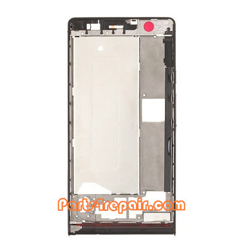 Front Housing Cover for Huawei Ascend P6 -Black