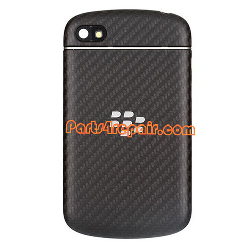 Full Housing Cover for BlackBerry Q10 -Black
