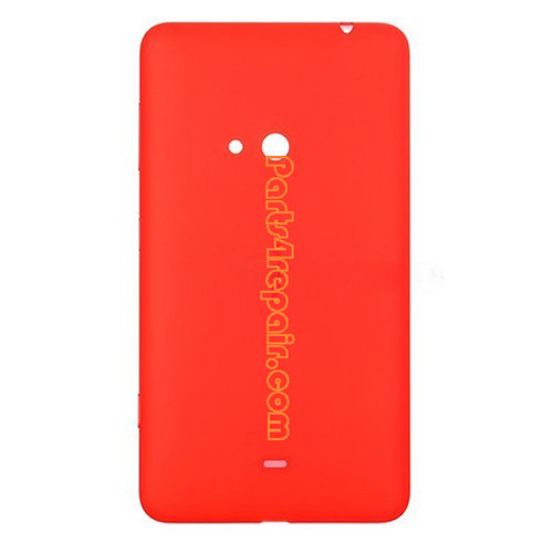 Back Cover for Nokia Lumia 625 -Orange