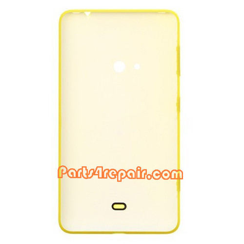 Back Cover for Nokia Lumia 625 -Yellow