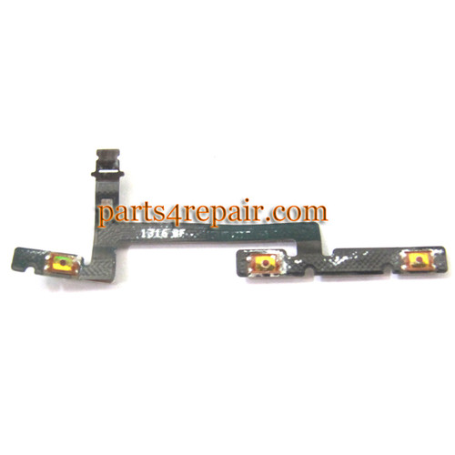 Volume Flex Cable for Huawei Ascend Mate MT1-U06 from www.parts4repair.com