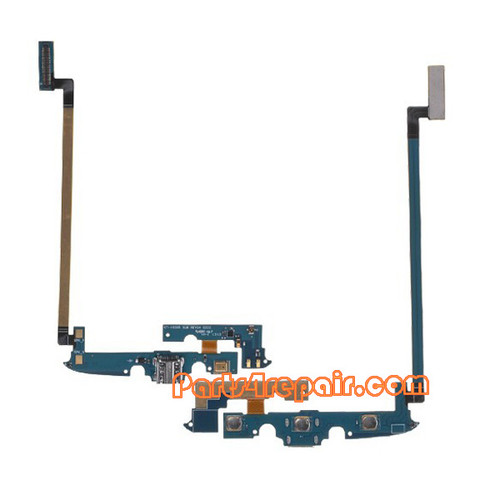Dock Charging Flex Cable for Samsung I9295 Galaxy S4 Active from www.parts4repair.com