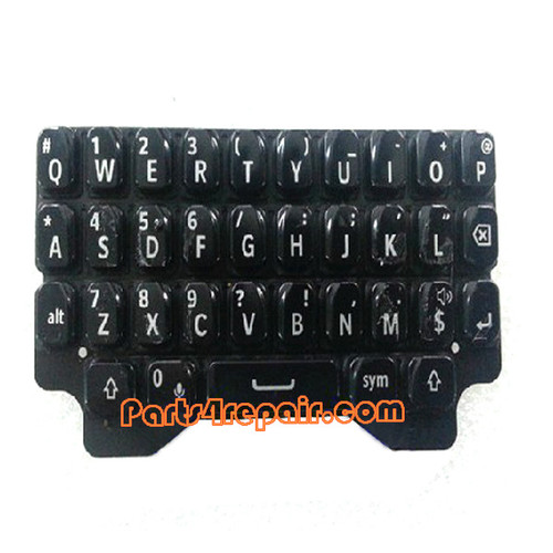 Keypad Membrane for BlackBerry Q5 -Black from www.parts4repair.com