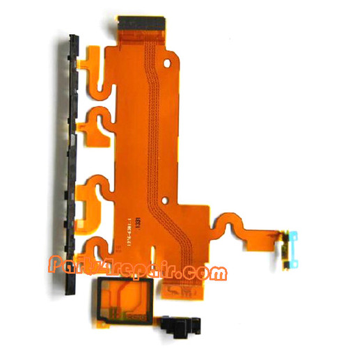 Volume Flex Cable for Sony Xperia Z1 L39H from www.parts4repair.com