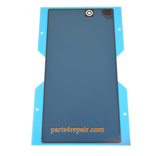 Back Cover for Sony Xperia Z Ultra XL39H -Black from www.parts4repair.com