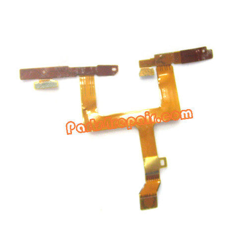 Side Key Flex Cable for Nokia Lumia 900 from www.parts4repair.com