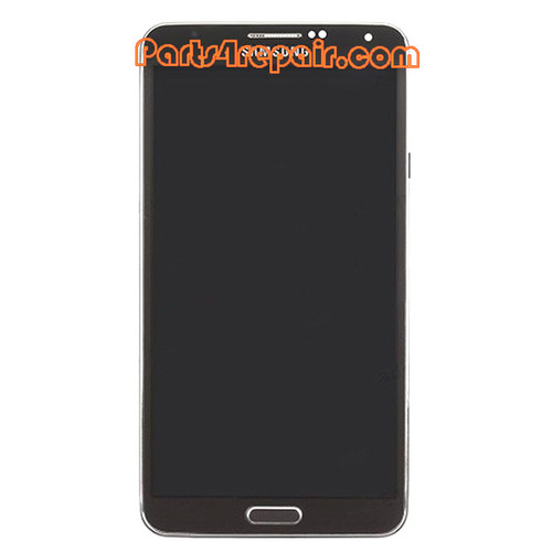 Complete Screen Assembly with Bezel for Samsung Galaxy Note 3 -Black