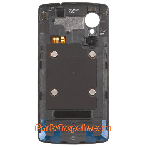 Back Cover with NFC for LG Nexus 5 D820 -Black