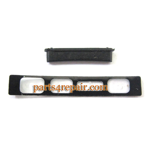 Volume Button for Sony Xperia Z1 L39H -Black from www.parts4repair.com