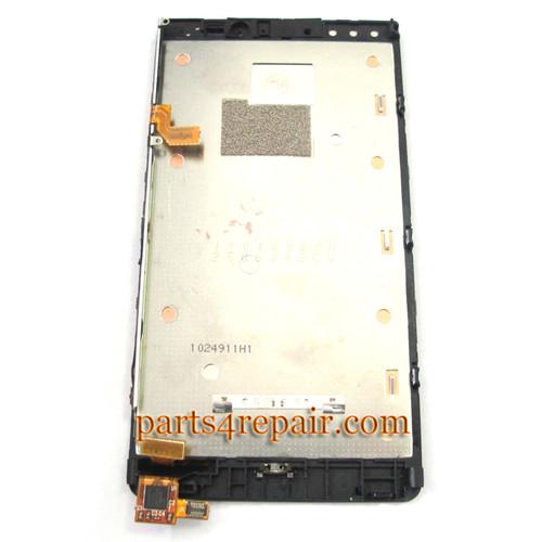 Nokia Lumia 920 Full Screen Assembly with Bezel OEM
