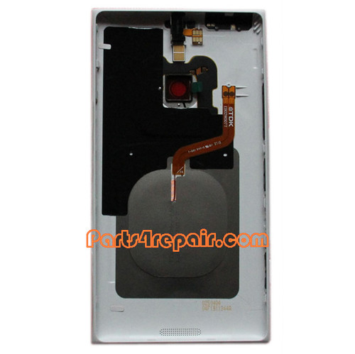 We can offer Back Housing Assembly Cover with NFC for Nokia Lumia 1520 White