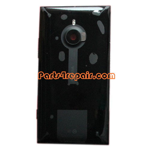 Back Housing Assembly Cover with NFC for Nokia Lumia 1520 Black from www.parts4repair.com