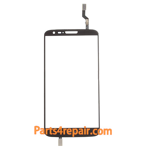 Touch Screen Digitizer for LG G2 D802 -Black from www.parts4repair.com
