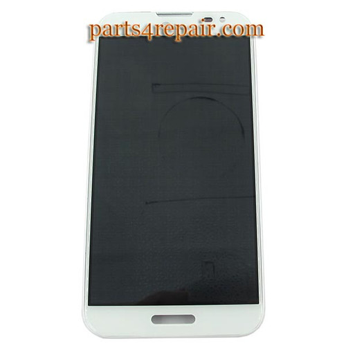 Complete Screen Assembly with Bezel for LG Optimus G Pro F240 -White