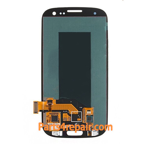 Complete Screen Assembly without Bezel for Samsung I9300 Galaxy S III -Grey