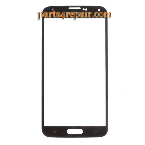Front Glass for Samsung Galaxy S5 -Black from www.parts4repair.com