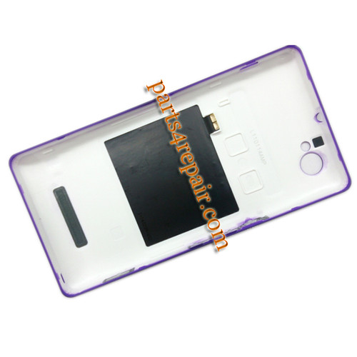 We can offer Back Cover with NFC & Side Keys for Sony Xperia M C1905 -Purple