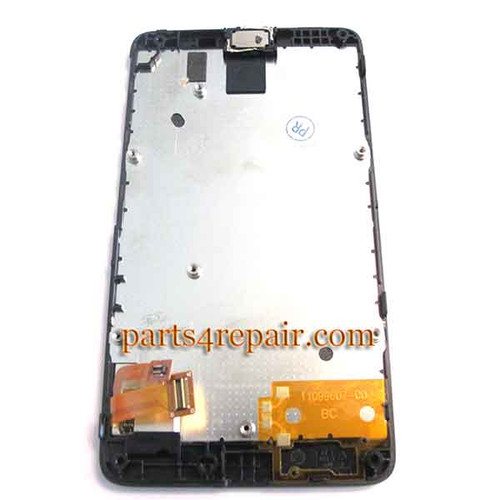 We can offer Complete Screen Assembly with Bezel for Nokia X