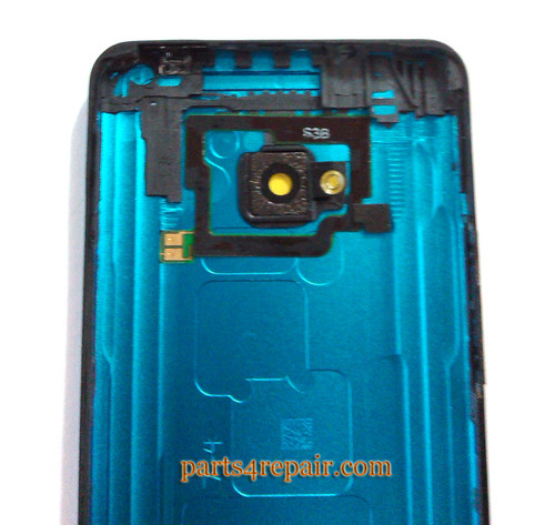 Back Cover for HTC One M7 -Blue