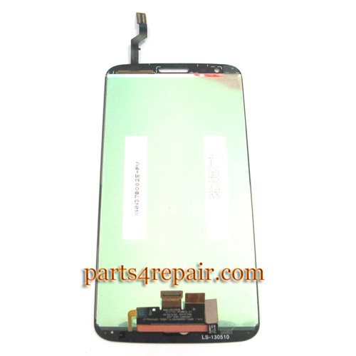 Complete Screen Assembly for LG G2 D800 -Black