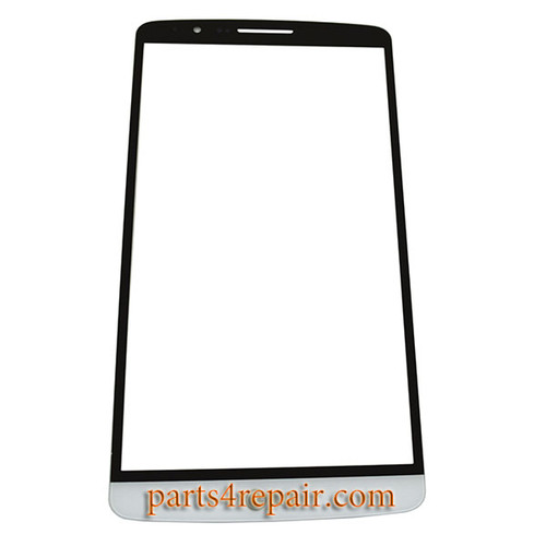 Glass Lens for LG G3 -White